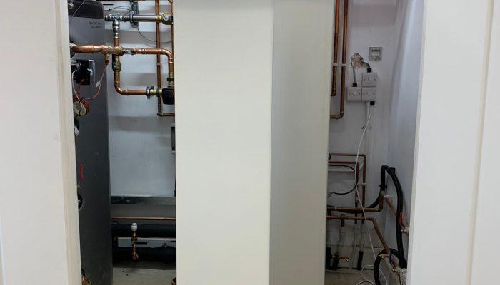 Installation of GSHP