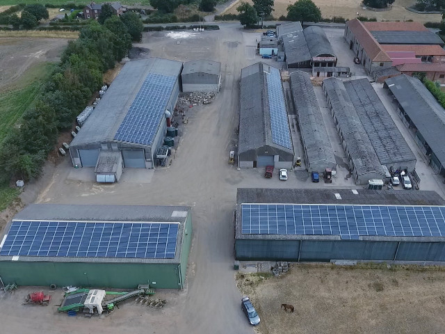 150KW INTEGRATED SOLAR PV INSTALLATION GREENHOUSE