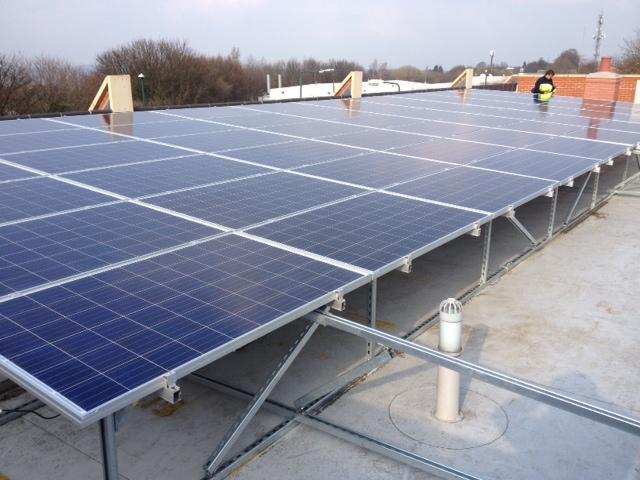 Eastgate Care Solar Panels