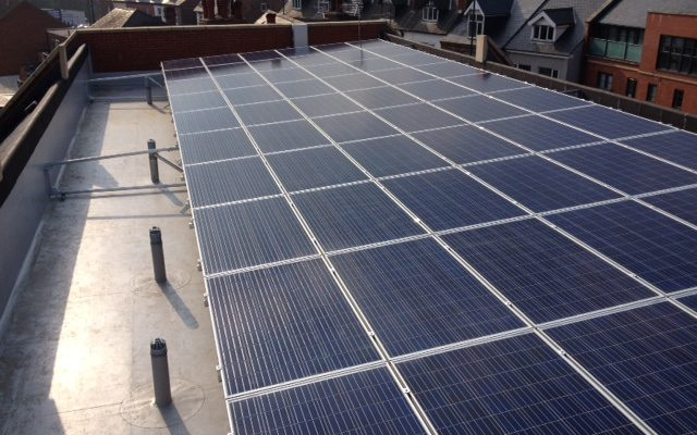 Eastgate Care Homes solar panels
