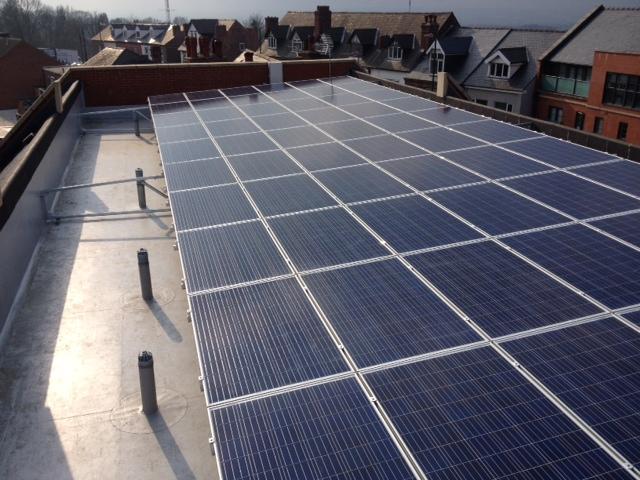 Eastgate Care Homes solar panels