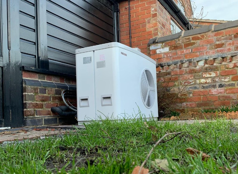 Air source heat pump installation processes