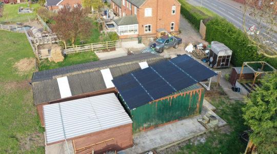 Vanham Solar PV system