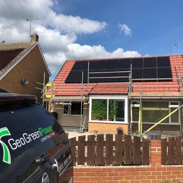 Geo Green Bungalow Solar Install