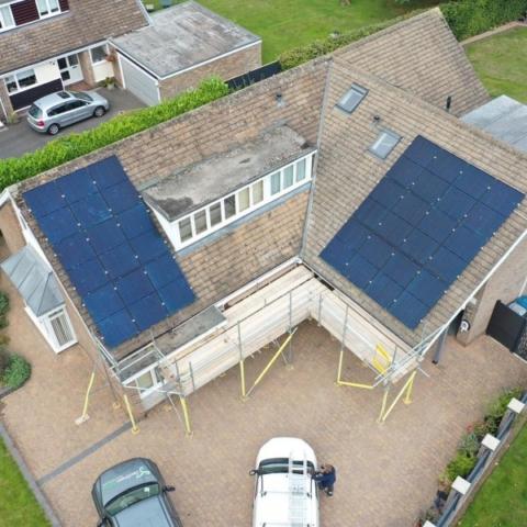 Geo Green Solar Install